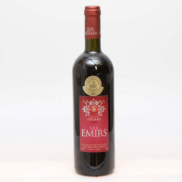 Clos St. Thomas - Les Emirs 2012 Red 0,75l