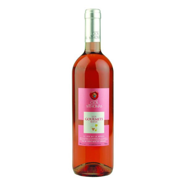 Clos St. Thomas - Les Gourmets Rosé 2018 0,75l